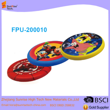PU Soft sports disc foldable ultimate 9 frisbee