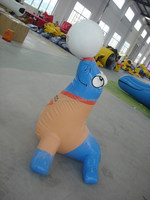 pvc advertising inflatable product/ inflatable animal model