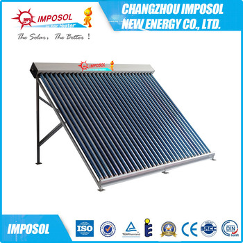 Solar Keymark solar super Heat Pipe Solar Collector with EN12975 Standard