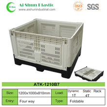Folding Bulk plastic fruit pallet container