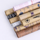 News paper multicolor optional flower print newspaper recycled kraft paper roll wrapping gift craft paper