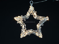 Acrylic wire star lights new design