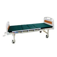 Comfortable ABS headboard used two crank manual hospital bed for sale price