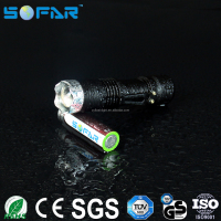 Wholesale custom logo strong light 18650 batter rechargeable fast track police led torch light flashlight