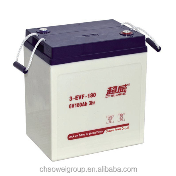 Advanced Direct Casting technical Deep cycle Silicone gel battery 12V175AH/10Hr for golf carts and electric bus