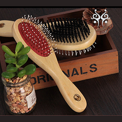 Hot sale pet grooming products different size double side pet brush, pet comb