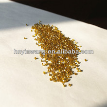 Rough Yellow Synthetic Diamond Grits for diamond tools