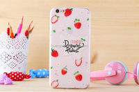 Fancy back cover tpu case for iPhone 6 plus slim cell phone case