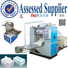 Paper Folding Machine Box Drawing Facial Tissue Paper Making Machine
