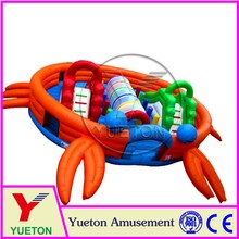 Zhengzhou Yueton Small Inflatable Indoor Playground Bouncer Slide On Sale