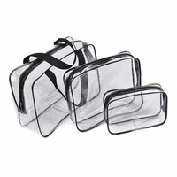 Fashion Transparent Waterproof PVC Beach Bag for Ladies