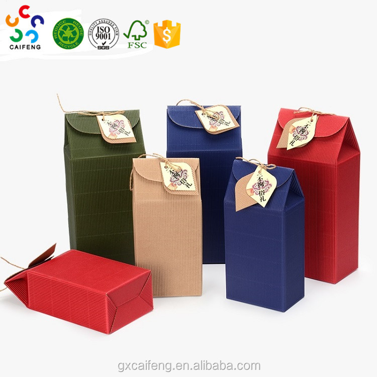 Recyclable corrugated board Box For Agriculture Products