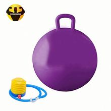 RAMBO Safe Handled Hopper Space Hooper Jump Ball With Handle For Kids