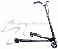 Adult Three Wheel Scooter Winged Swing Speeder Scooter Tri Scooter