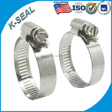 SAE type Stainless Steel Adjustable Hose Clamp KB12SS