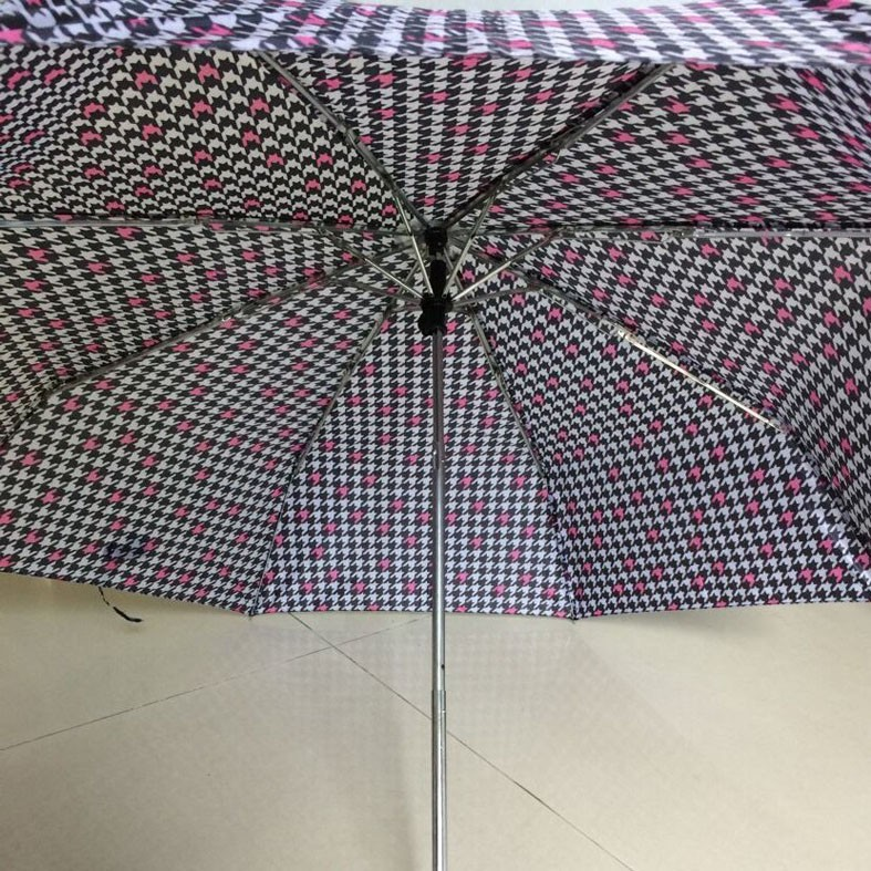 with metal frame super mini 3 folding umbrella