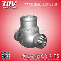 Lift flange astm a216 wcb check valve