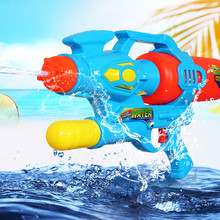 Summer Kids Outdoor Beach Games Soft Plastic Water Gun Toy Gun