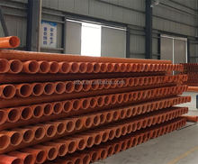 High Pressure & Light Weight Fiberglass Reinforced Plastic Cable pipe