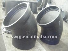 Ductile cast Iron Pipe Fittings with Socket Spigot Bend