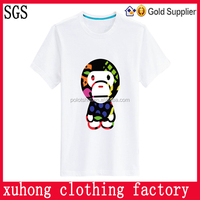 tees rayon cotton polyester white t-shirts wholesale