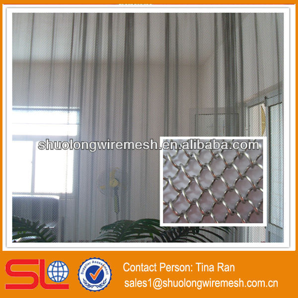 Decorative aluminum shade screen