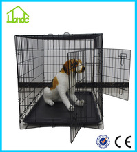 Popular new design two doors folding lightweight dog crates