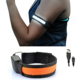 Waterproof 7 Colors 28 - 40 cm Adjustable Night Safety Running Usb Rechargeable Led Armband