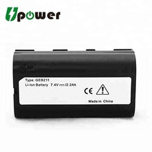Li-ion Battery 7.4V 2200mAh Replacement Battery for Lei ca GEB211 ATX900 GRX1200 GPS900 Total Station Battery
