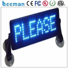 programmable led display sign outdoor cab dome top led display ad signal