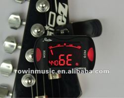 Mini Clip-on Clip on LCD Display Guitar Tuner Backlight for Guitar Chromatic Bass Violin Ukulele Guitar Parts & Accessories