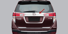 ABS CHROM FOR TOYOTA NEW INNOVA 2016 ABS CHROME REAR TRUNK TRIM CAR ACCESSORIES