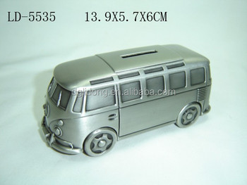 Zinc alloy minivan money box