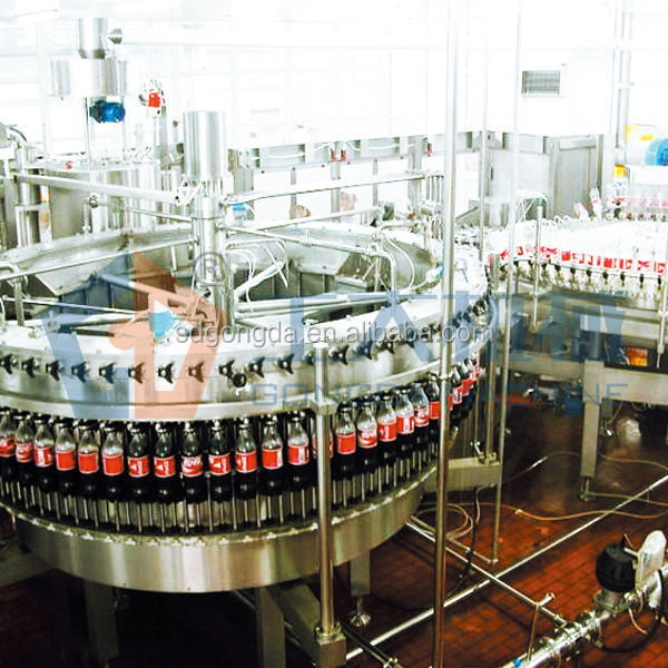 soft drink bottling line