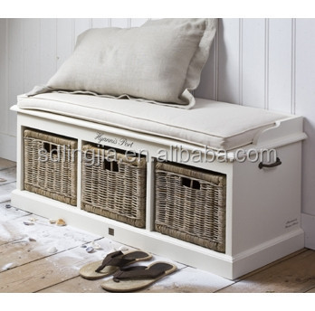 Wedding Bench Wicker Design Large Modern Wooden Shoe Cabinet