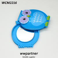 Lovely Double side Slide Owl Mirror Toy for kids