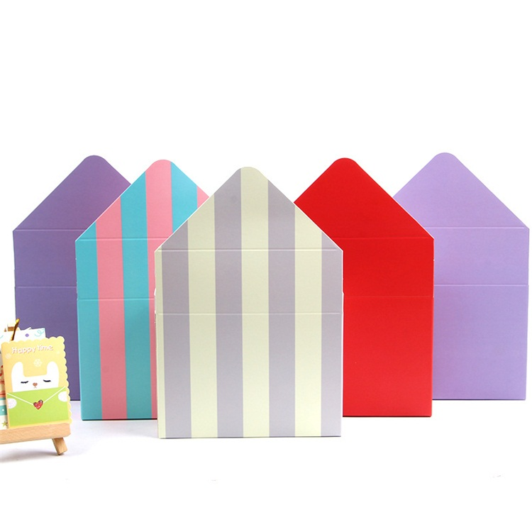 Special Gift Multicolor Packaging Envelope Flower Box