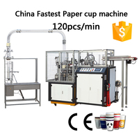 CE Standard Automatic paper cup making machine, paper cup making machine prices in Korea