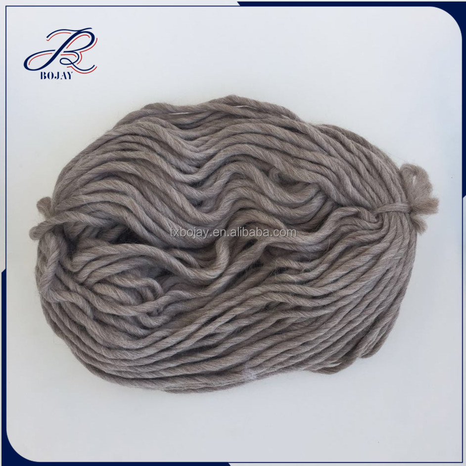 Wholesale Extremely hot Chunky Hand Knitting Merino Wool Yarn 19 micron 21 micron 23 micron for knitting sweater slipper and hat