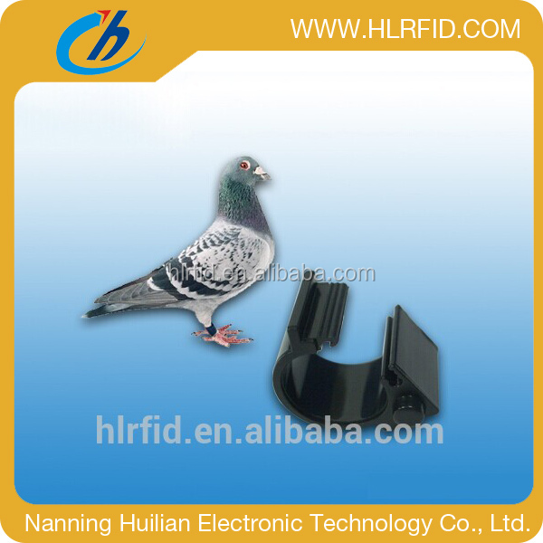 hot hf/uhf rfid foot ring tag for animal tracing