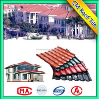 Hot Sales Synthetic Resin Spanish S Type Roof Tile