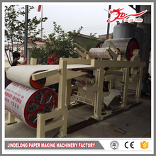 Factory manufacturer CE high speed virgin pulp paper dona making machine
