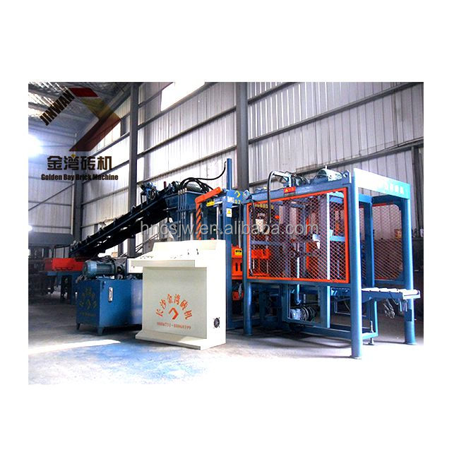 good quality paving block forming machine, brick wall building machine, columbia concrete block machine