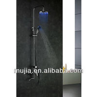 LRS03 Special design Brass Chrome finished led over head shower
