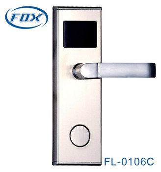 China famous manufacturer FOX hotel electric door lock with high quality