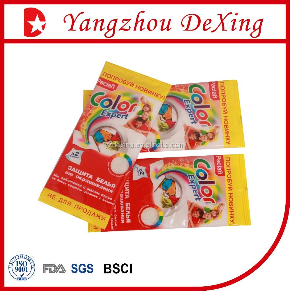 Colour catcher sheets - Eco Friendly And Nice Effect Colour Catcher Sheets Crr001