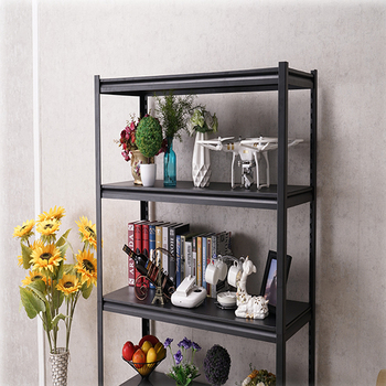 Hot selling factory price  metal household steel boltless rivet rack storage shelving