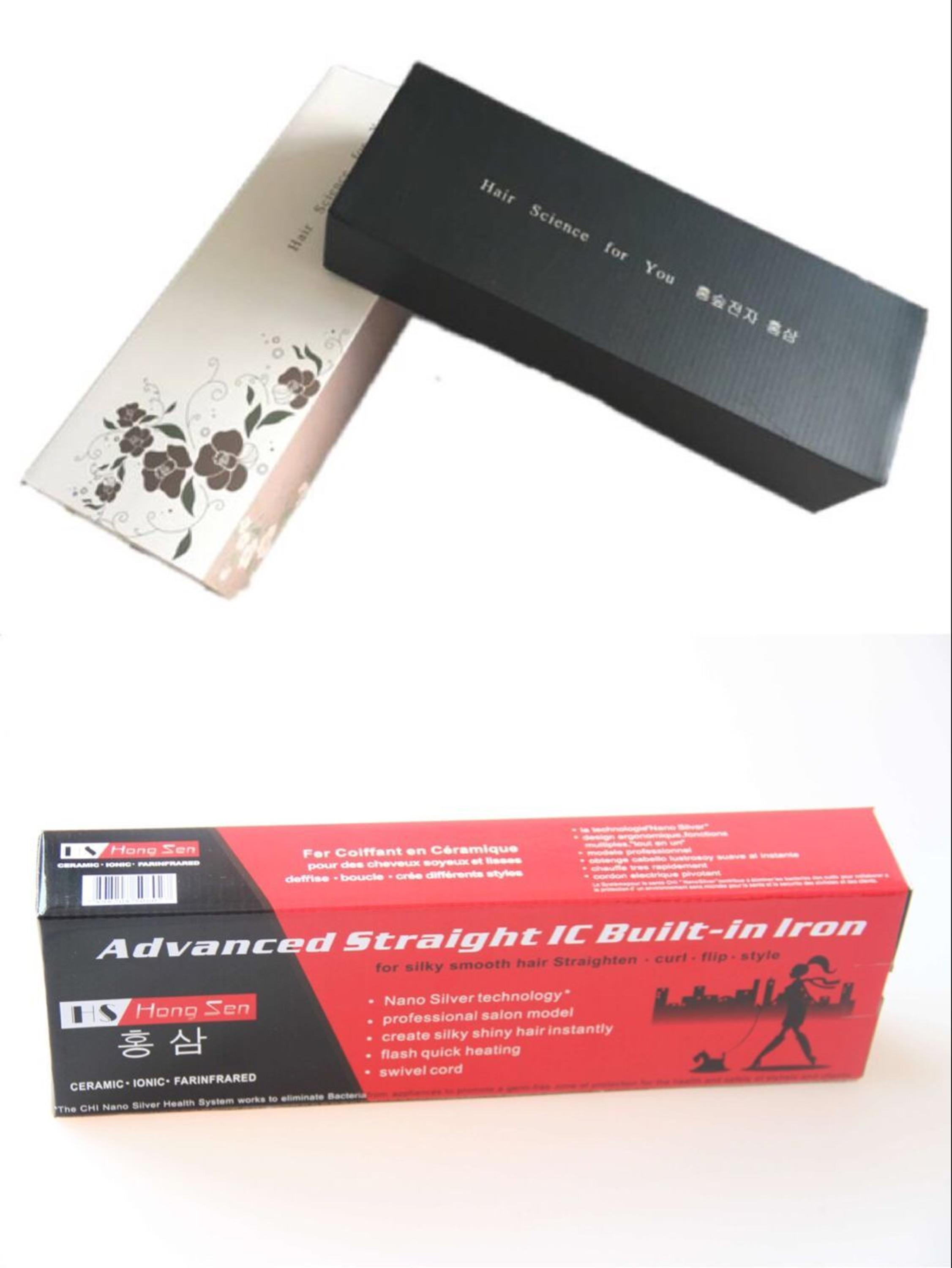 In stock EU plug Titanium plate LED display Black White Support mixed batch Hair Straightener 9.9USD pieces each