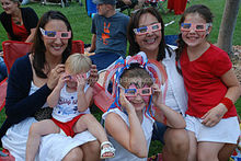 2014 fireworks glasses for event and festival