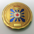 2018 Promotional gift custom metal canada challenge coins\canada challenge coins manufacturers\metal commemorative coin canada